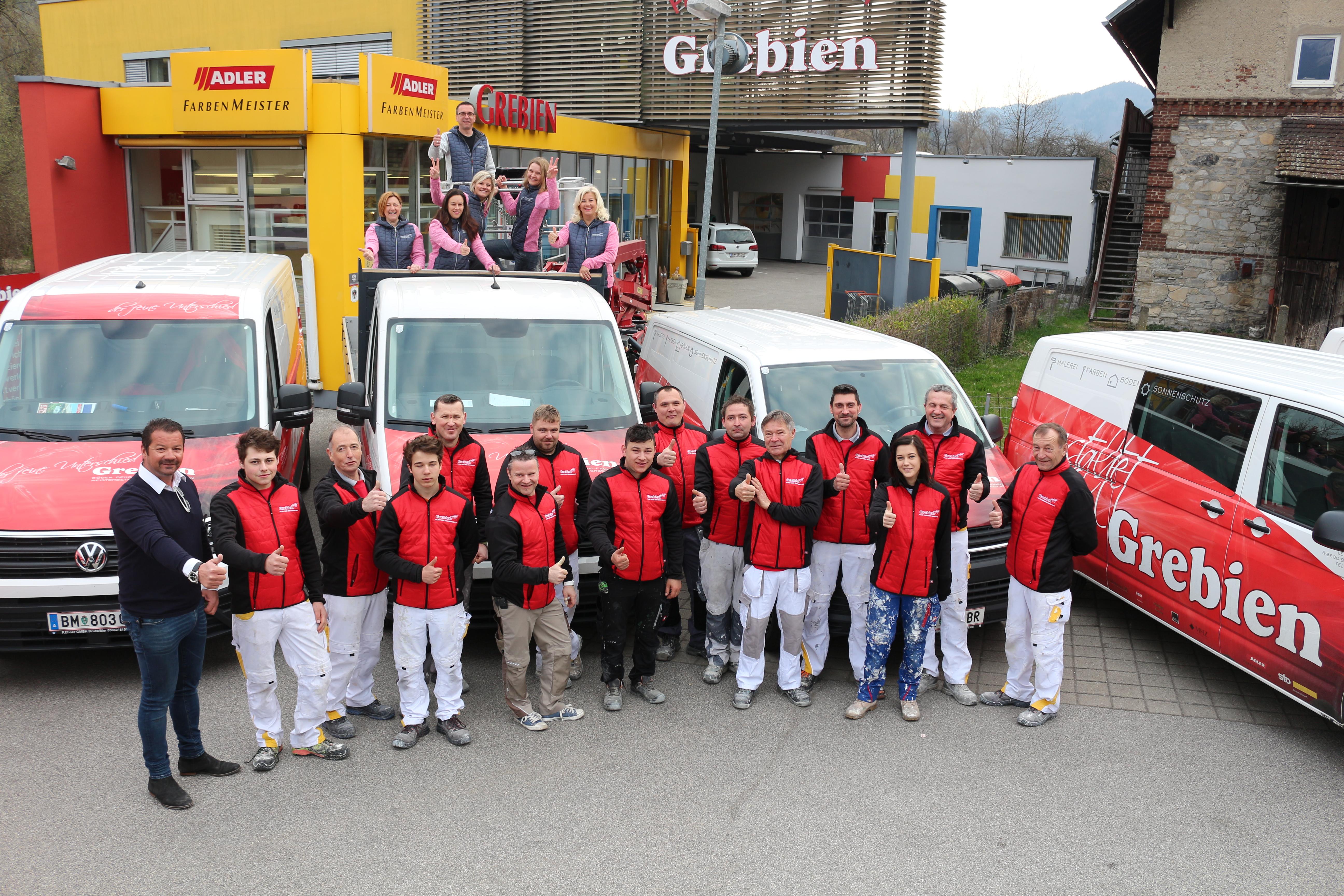 Teamfoto Grebien